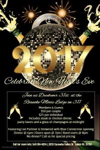 December 31 - New Year's Eve Dance